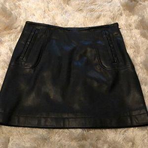 Pleather Skirt